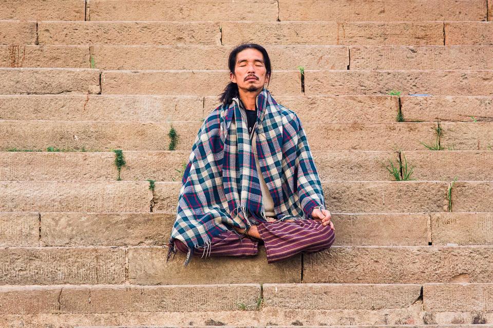 medytacja wrażenia